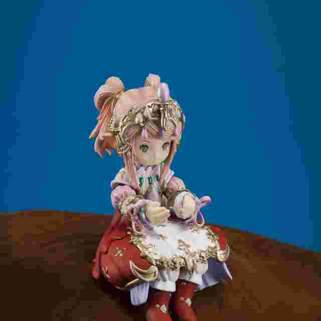 Screenshot des Spiels FINAL FANTASY XIV Mascot Figure - Seated Nanamo