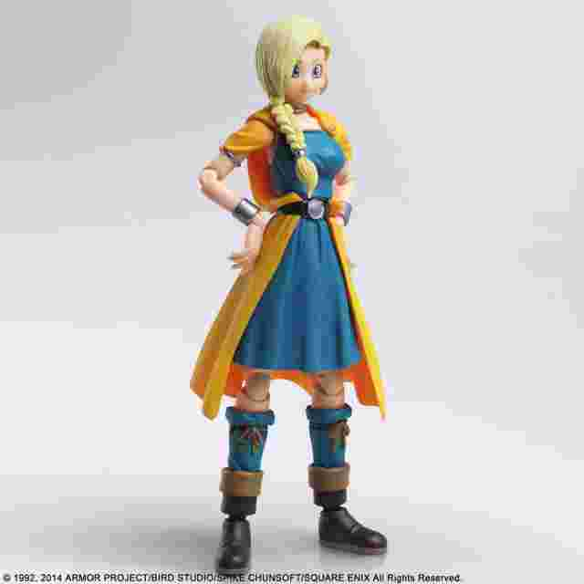 Capture d'écran du jeu DRAGON QUEST V HAND OF THE HEAVENLY BRIDE BRING ARTS - BIANCA