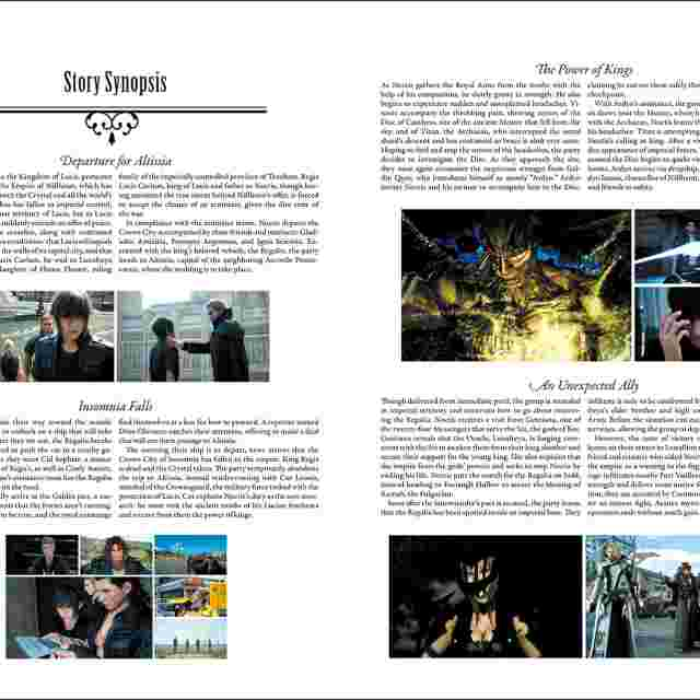 Screenshot for the game Final Fantasy XV: The Dawn of the Future [BOOK]
