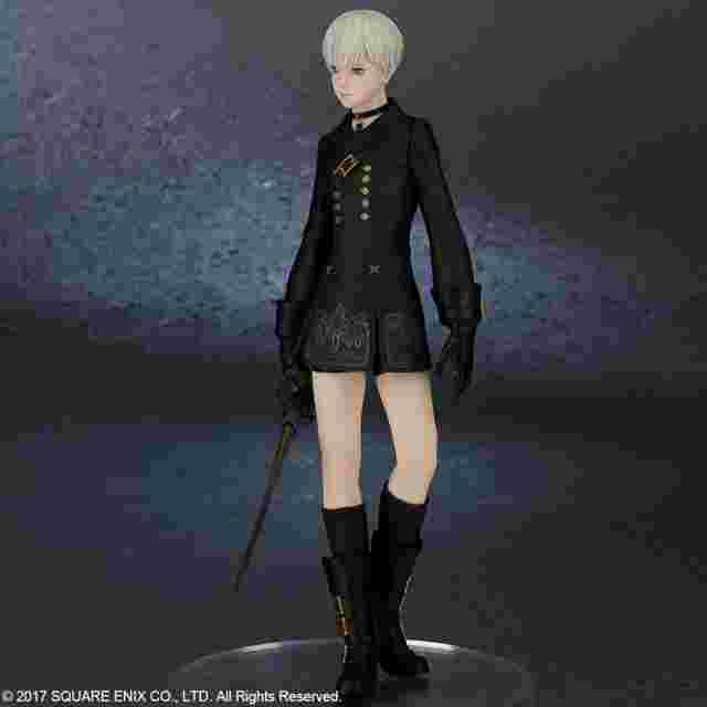Screenshot for the game NIER:AUTOMATA® 9S (YORHA NO. 9 TYPE S) [DELUXE VERSION] - BY FLARE