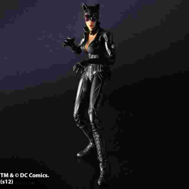 Screenshot des Spiels BATMAN ARKHAM CITY PLAY ARTS KAI [Catwoman]