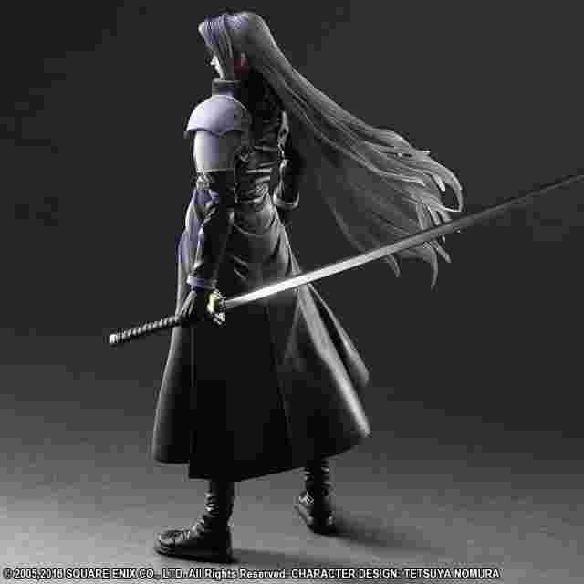 Screenshot des Spiels FINAL FANTASY VII ADVENT CHILDREN PLAY ARTS KAI -Sephiroth-