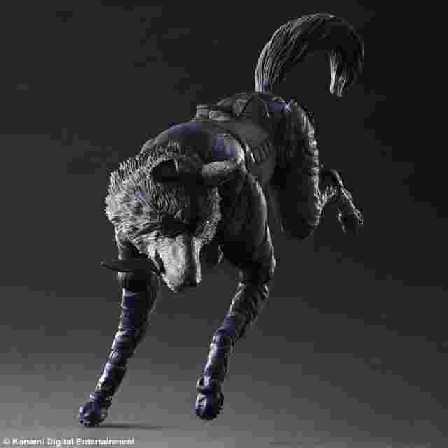 Screenshot for the game METAL GEAR SOLID V THE PHANTOM PAIN PLAY ARTS KAI [D-DOG]