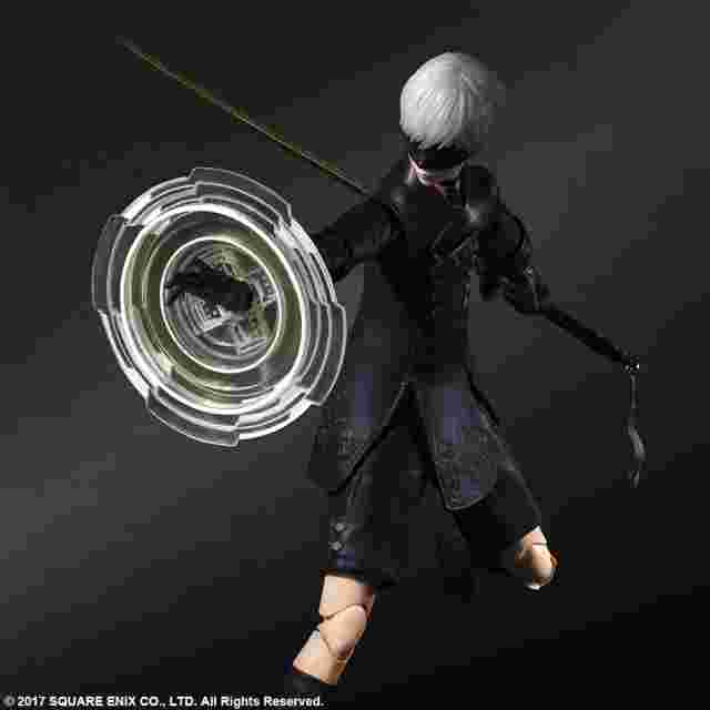 Screenshot for the game NieR:Automata® PLAY ARTS KAI™ Action Figure - 9S (YoRHa No.9 Type S) [Action Figure]