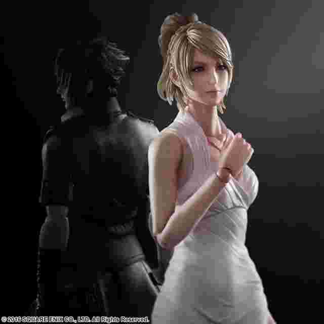 Screenshot for the game FINAL FANTASY XV: PLAY ARTS KAI - Lunafreya Nox Fleuret