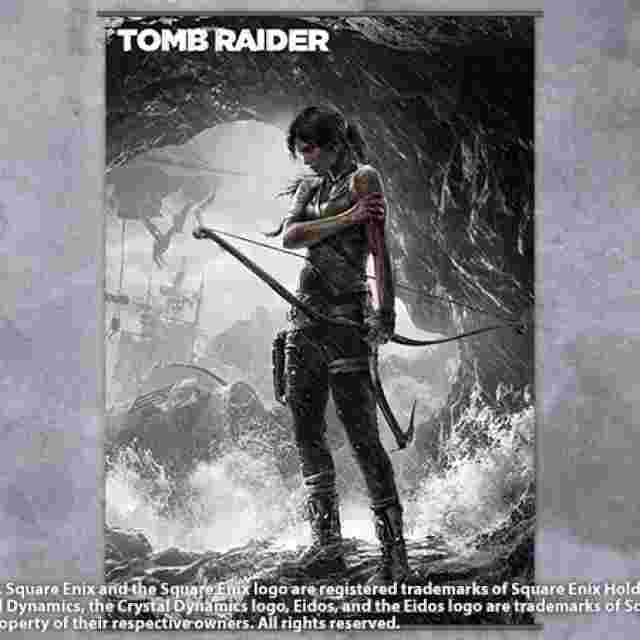 Captura de pantalla del juego TOMB RAIDER [Wall Scroll Vol.2]
