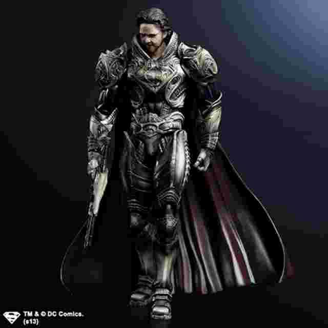 Screenshot des Spiels MAN OF STEEL PLAY ARTS KAI [Jor-El]