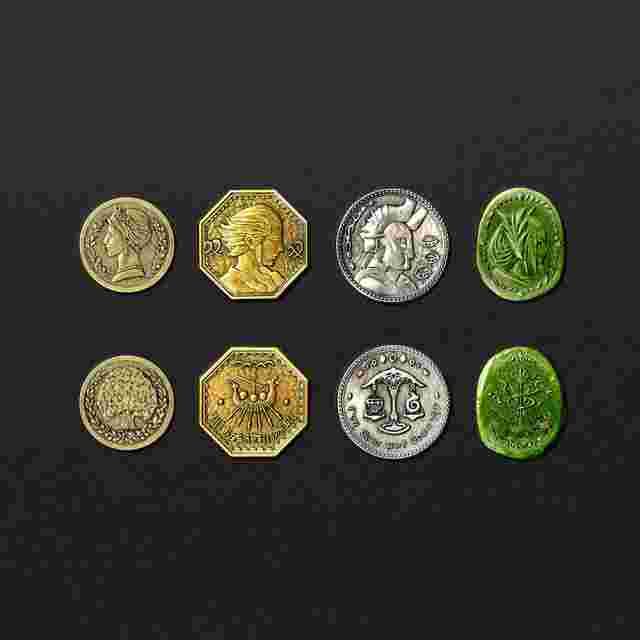 cattura di schermo del gioco FINAL FANTASY XIV - COIN COLLECTION