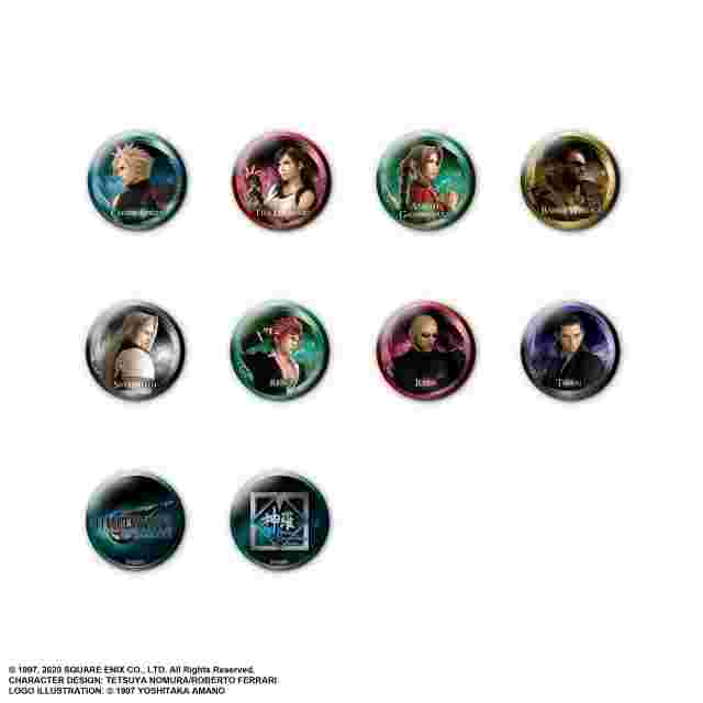 Screenshot des Spiels FINAL FANTASY VII REMAKE PIN BADGE COLLECTION (BLIND BOX DISPLAY)