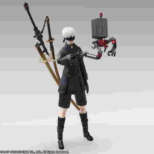 Screenshot for the game NieR: Automata™ BRING ARTS 9S (YoRHa No. 9 Type S) [ACTION FIGURE]