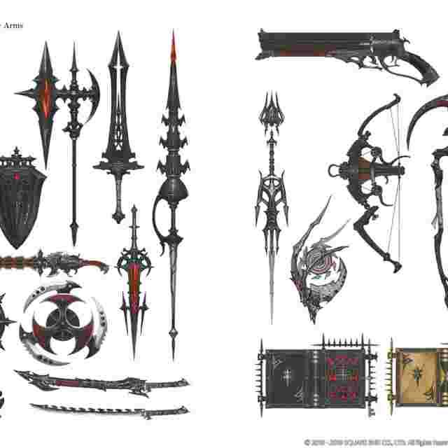 Screenshot for the game FINAL FANTASY® XIV SHADOWBRINGERS™: The Art of Reflection -Histories Forsaken- [ARTBOOK]