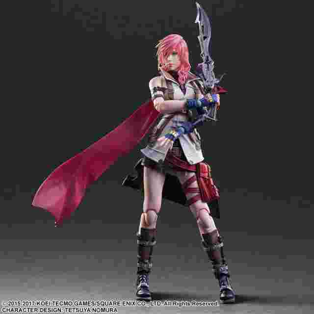 cattura di schermo del gioco DISSIDIA FINAL FANTASY PLAY ARTS KAI – Lightning