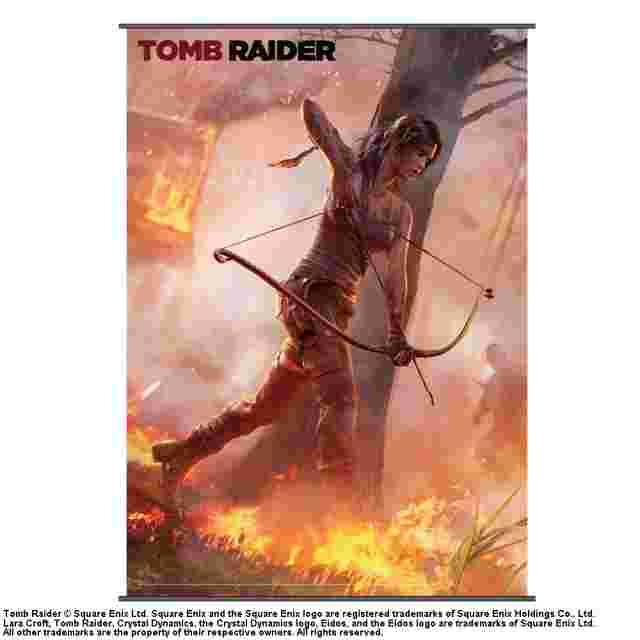Capture d'écran du jeu WALLSCROLL TOMB RAIDER VOL 1 (POSTER TISSU)