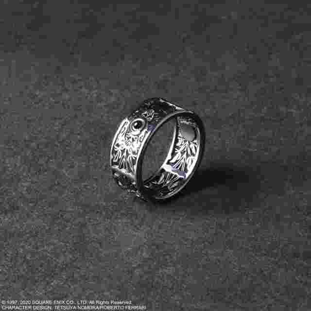 Screenshot for the game FINAL FANTASY VII REMAKE BLACK SILVER RING: Sephiroth 8 [JEWELRY]