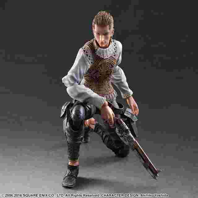 Screenshot for the game FINAL FANTASY XII PLAY ARTS KAI -Balthier-