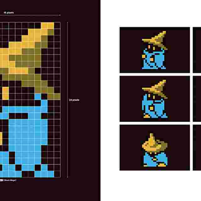 Screenshot for the game FF DOT. -The Pixel Art of FINAL FANTASY- [IMPORT BOOK]