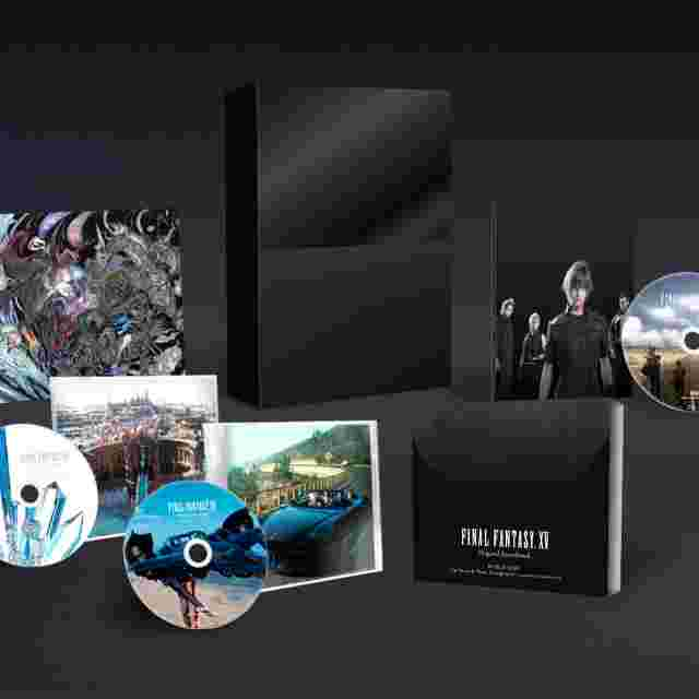 Screenshot for the game FINAL FANTASY XV Original Soundtrack Limited Edition (Blu-ray Disc music)