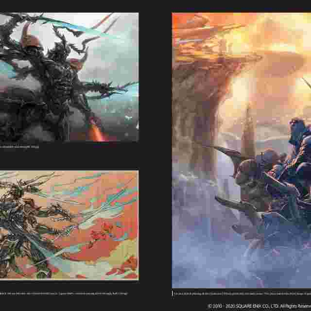 Capture d'écran du jeu FFXIV: Heavensward | The Art of Ishgard -Stone and Steel