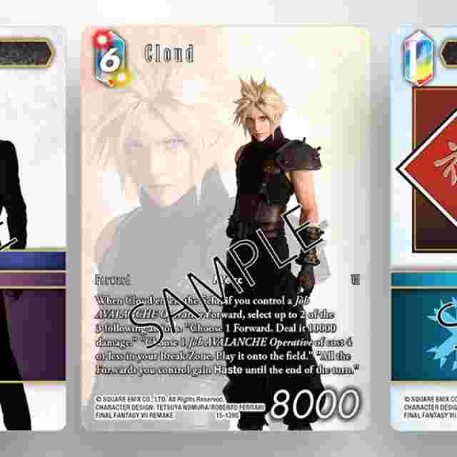 Screenshot for the game FINAL FANTASY TRADING CARD GAME: TWO-PLAYER STARTER SET AVALANCHE VS SHINRA [ENGLISH VERSION]