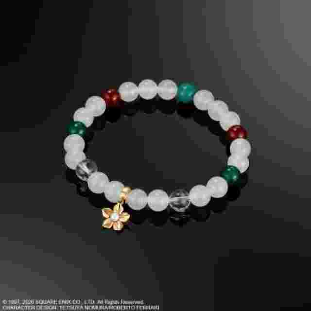 cattura di schermo del gioco FINAL FANTASY VII REMAKE BRACELET - AERITH GAINSBOROUGH