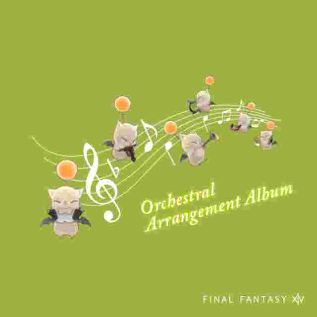 cattura di schermo del gioco FINAL FANTASY XIV Orchestral Arrangement Album (CD)