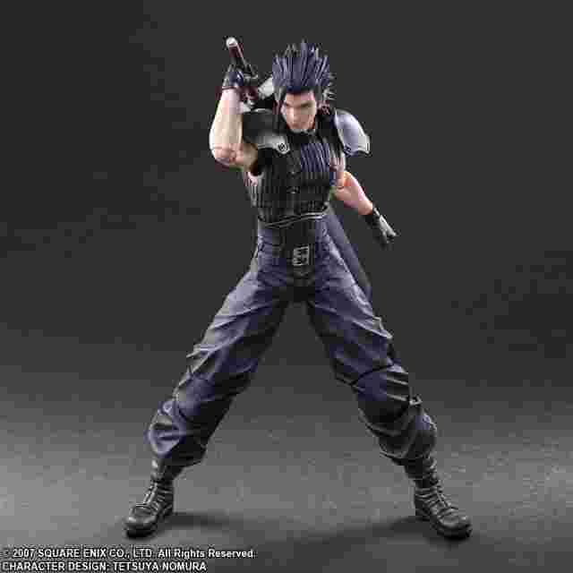Screenshot for the game CRISIS CORE - FINAL FANTASY VII Play Arts KAI – ZACK