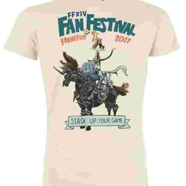 Capture d'écran du jeu FINAL FANTASY XIV fan festival 2017 MUSICIANS OF EORZEA T-SHIRT (M)