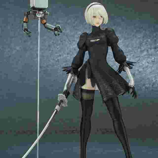 Screenshot for the game NIER: AUTOMATA™ FLARE FIGURE 2B (YoRHa No. 2 Type B) [DELUXE EDITION] [FIGURINE]