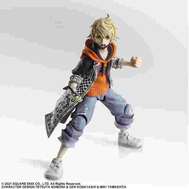 Screenshot for the game NEO THE WORLD ENDS WITH YOU BRING ARTS ACTION FIGURE - RINDO