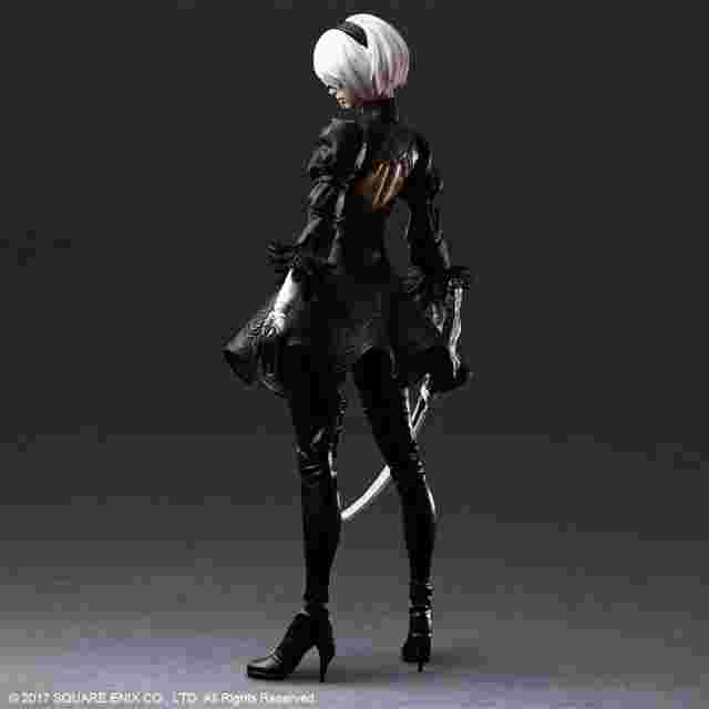 Screenshot des Spiels NIER:AUTOMATA PLAY ARTS KAI ACTION FIGURE 2B (YORHA NO. 2 TYPE B) DELUXE VER.