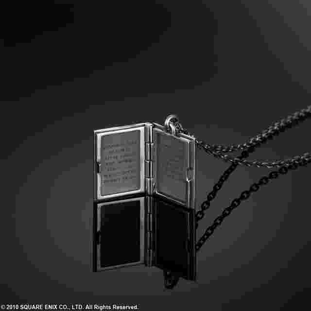 Screenshot for the game NIER SILVER LOCKET PENDANT - GRIMOIRE NOIR [JEWELRY]