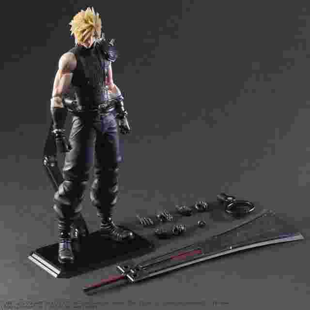 Screenshot for the game FINAL FANTASY VII REMAKE PLAY ARTS KAI ACTION FIGURE CLOUD STRIFE VER. 2 LIMITED VERSION