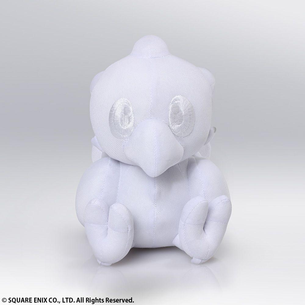 Plush White Version Chocobo Autograph Square Enix Final Fantasy