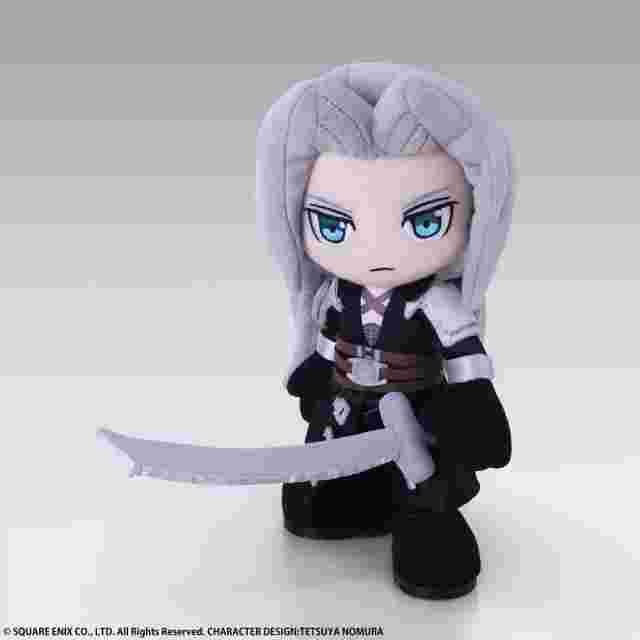Captura de pantalla del juego FINAL FANTASY VII ACTION DOLL - SEPHIROTH