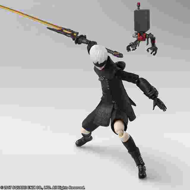 Screenshot for the game NieR: Automata BRING ARTS - 9S (YoRHa No. 9 Type S)