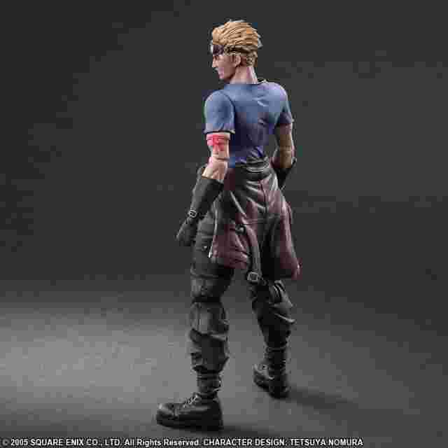 Screenshot des Spiels FINAL FANTASY VII ADVENT CHILDREN PLAY ARTS KAI - CID HIGHWIND & CAIT SITH