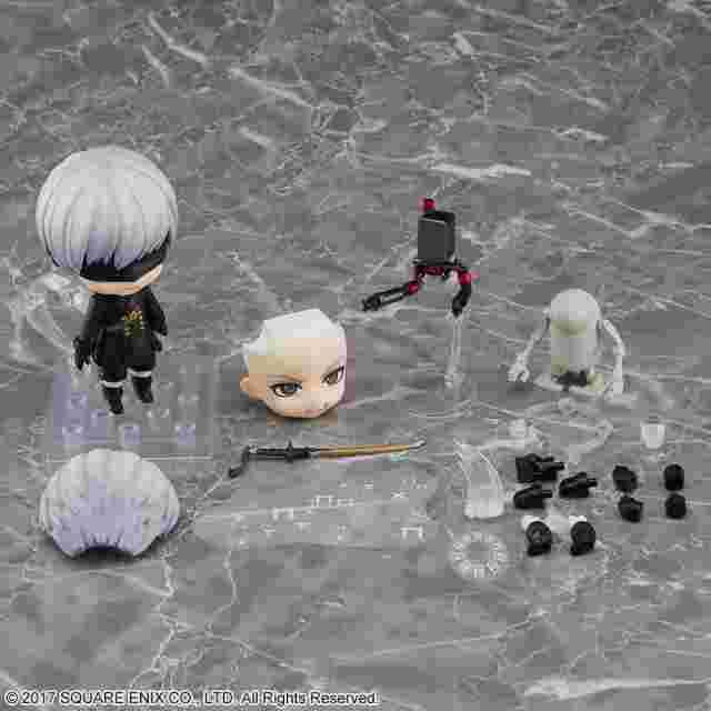 Screenshot for the game Nendoroid NieR:Automata® 9S (YoRHa No. 9 Type S)