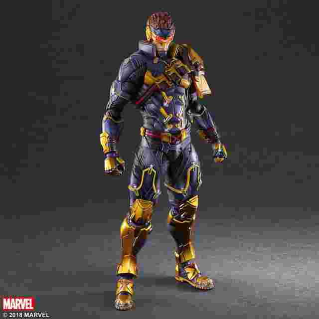 Screenshot des Spiels Marvel Universe VARIANT PLAY ARTS KAI - CYCLOPS - Entworfen von Hitoshi Kondo