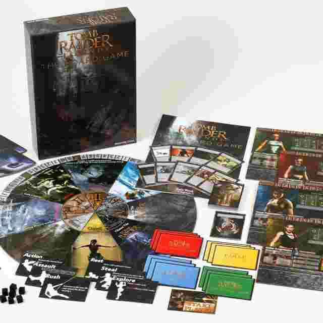 Screenshot for the game TOMB RAIDER LEGENDS: THE BOARD GAME [TABLETOP]