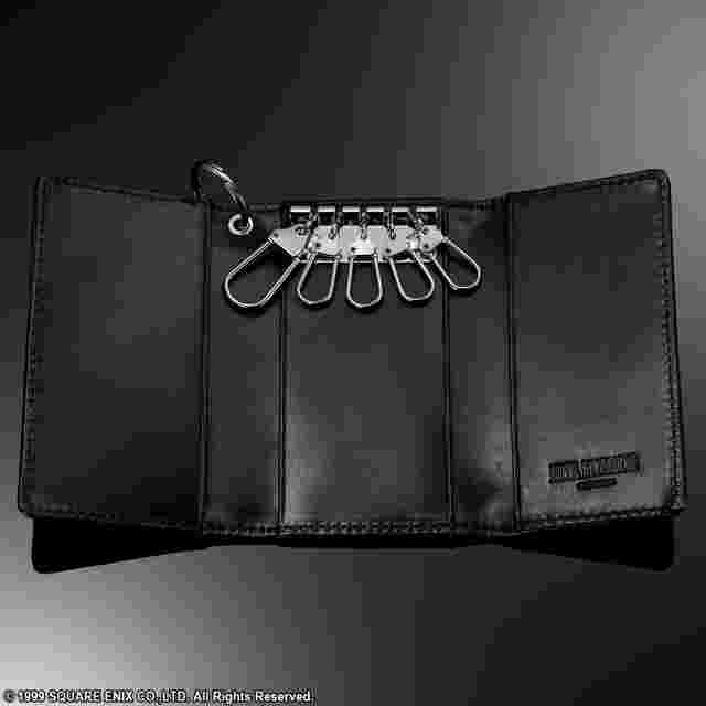 Capture d'écran du jeu FINAL FANTASY VIII Leather Key Case Wallet - SLEEPING LIONHEART