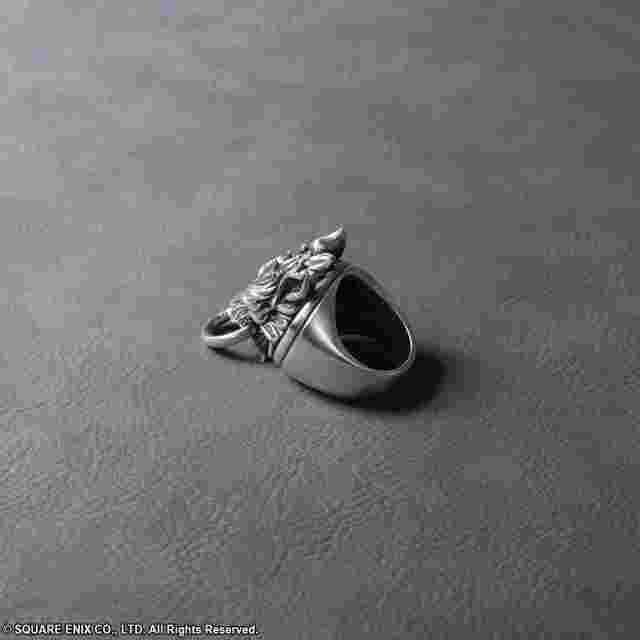Screenshot for the game FINAL FANTASY® VII ADVENT CHILDREN SILVER RING CLOUDY WOLF -SIZE 8.5- [JEWELRY]