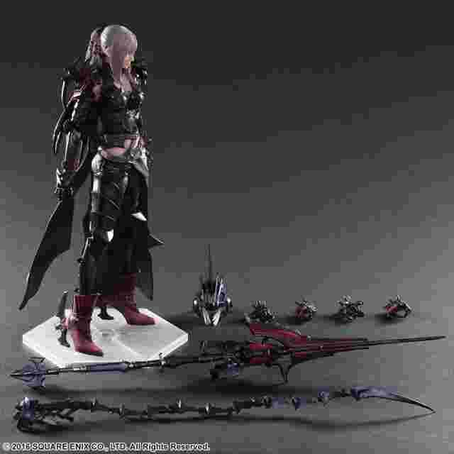 Capture d'écran du jeu FINAL FANTASY XV: PLAY ARTS KAI [ARANEA HIGHWIND]