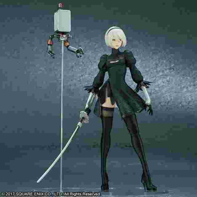 Screenshot for the game NieR:Automata® 2B (YoRHa No. 2 Type B) [Deluxe Version] – REISSUE by FLARE [FIGURINE]