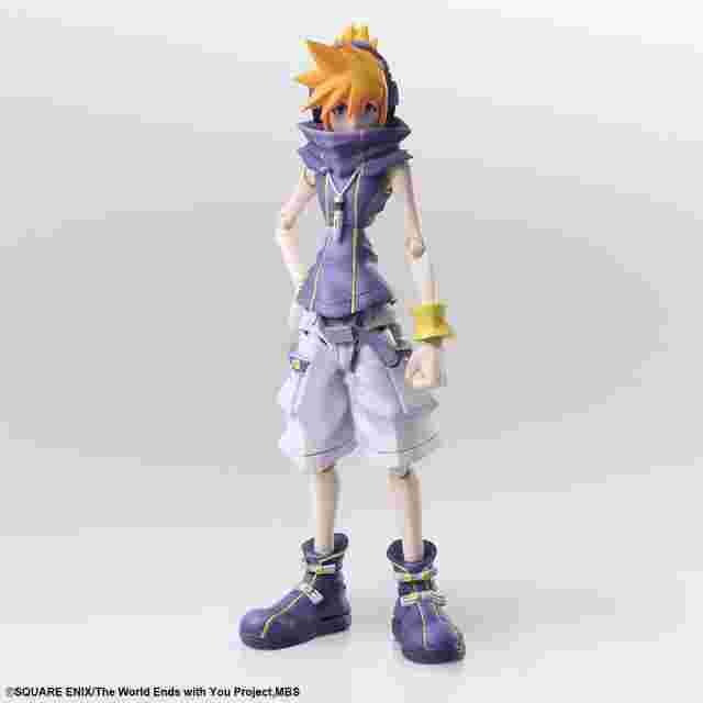Screenshot des Spiels THE WORLD ENDS WITH YOU THE ANIMATION BRING ARTS™ ACTION FIGURE - NEKU SAKURABA