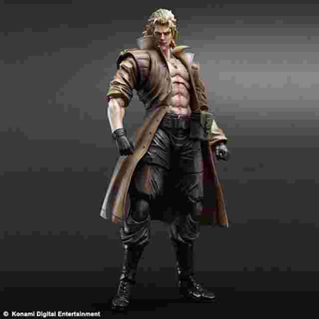 Capture d'écran du jeu METAL GEAR SOLID PLAY ARTS KAI [Liquid Snake]