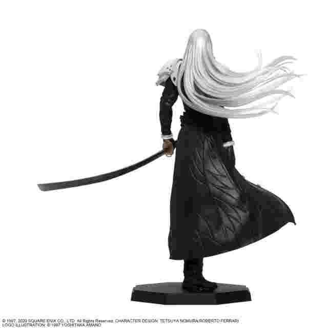 Screenshot des Spiels FINAL FANTASY VII REMAKE STATUETTE - SEPHIROTH