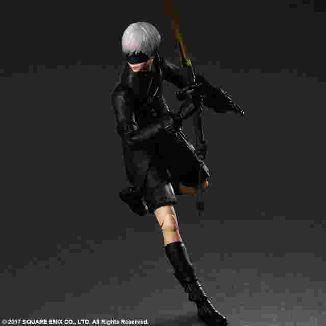cattura di schermo del gioco NIER:AUTOMATA PLAY ARTS KAI ACTION FIGURE 9S (YORHA NO.9 TYPE S)