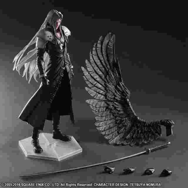 Screenshot for the game FINAL FANTASY VII ADVENT CHILDREN PLAY ARTS KAI [SEPHIROTH]