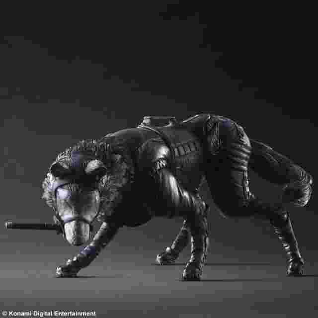 Screenshot for the game METAL GEAR SOLID V THE PHANTOM PAIN PLAY ARTS KAI [D-DOG]