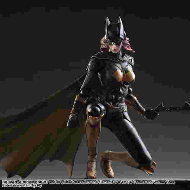 Screenshot for the game Batman: Arkham Knight Play Arts Kai - Batgirl